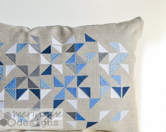 Triangles Scattered - Machine Embroidery Designs