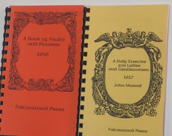 2  Medieval booklets recipes 1990
