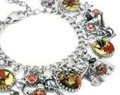 Witch Jewelry, Halloween Jewelry, Halloween Bracelet, Witches Jewellery