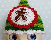 SALE Blythe Hat Gingerbreadman