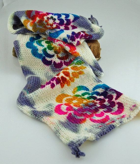 Double Knit Sock Pattern : Double Knit Sock BlanksPsychedelic FlowerRandom