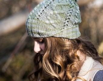 Foraging Hat Knitting Pattern PDF
