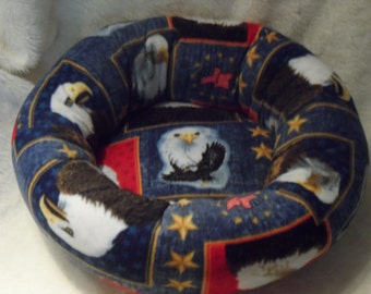 And the Eagle Cried  - Cat or Small Dog Bed