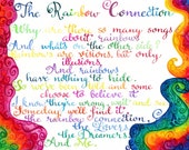Rainbow Connection - Print