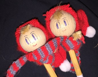 Vintage Denmark Doll Pencils