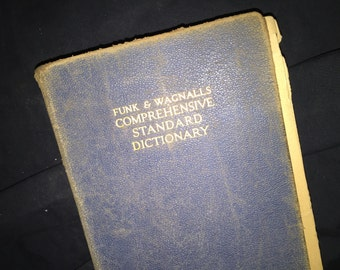 Funk and Wagnalls Standard Dictionary