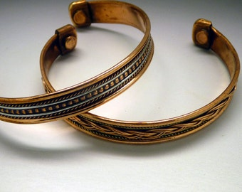 Copper Bracelet Blank for Paper, Polymer, jewelry