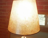 Exclusive Listing for Jane Mance ONLY Silver Conical Clip-On Mica Shade