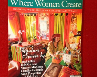 Where Women Create Magazine Winter 2010 May June July Single Issue