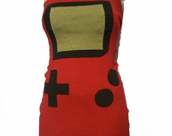 Red Gameboy Color dress