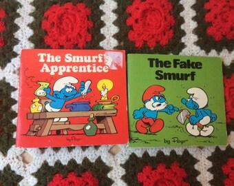 80s Smurf Books