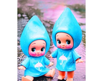 raindrop kewpie print 5 x 7 PITTER AND PATTER