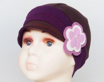 Chemo hats for hair loss, cancer headwear, trichotillomania, children accessories, lupus headwear, soft alopecia hats, kids blue chemo cap