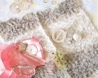 Glamour Girl Grab Bag...Lovely Vintage Trims, Buttons, & Luxe Goodies
