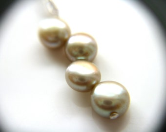 RESERVED - Custom Pearl Cluster Earrings