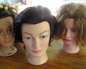 Gabby and Her Sisters - Three Craft Fair Display Heads