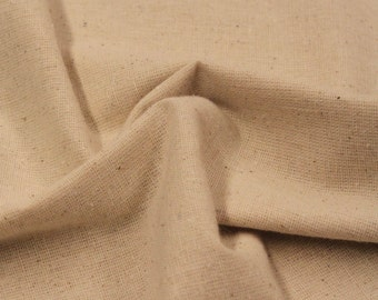Osnaberg - 100% Cotton - Natural - 3/4 Yard - Cotton Fabric / New Fabric / Osnaberg / Cotton Osnaberg - LAST PIECE!