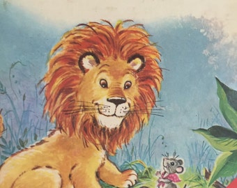 The Lion and The Mouse Childrens Book