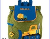 Personalized Construction Backpack