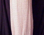 1970s Mod Knit Sparkle Mini Dress