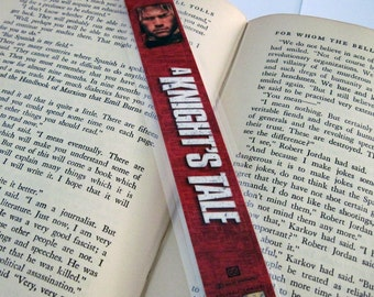 A Knight's Tale Recycled VHS Bookmark