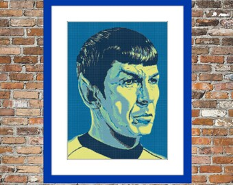 Spock - a Counted Cross Stitch Pattern
