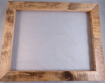 11x14 Rustic Curly Rock Maple Picture Frame X