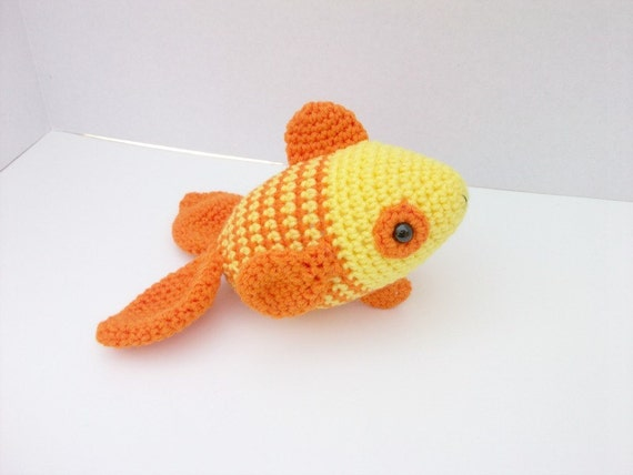Tropical fish stuffed animal plush toy by coastalcrochetcrafts for Fish stuffed animal