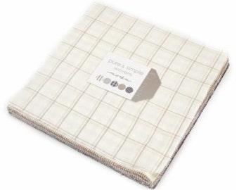 SALE PURE & SIMPLE Wovens 10 inch squares Layer Cake Moda Fabric