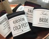 Father of the Bride Gift | Custom Wedding Gift | Groomsman Gift | Printable label | Personalized Best Man | Groomsman