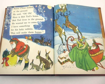 Fun in Story Vintage 1940s Children's School Reader or Textbook