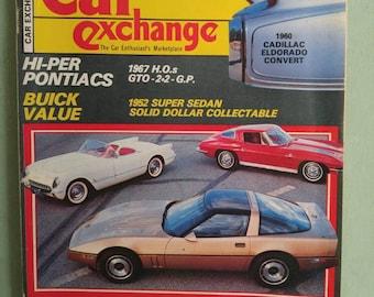 Car Exchange Magazine April  1983 Antique Cars Mid Century Jeepster Commando 1952 Willys Aero 1952 Buick 1958 Rometsch 1963 Corvette
