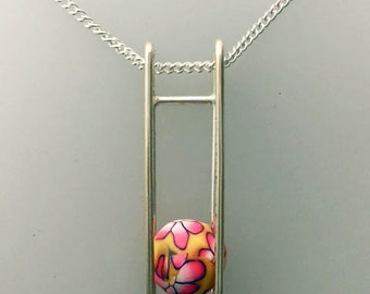Square Cage with moving bead