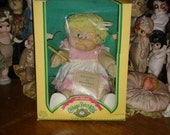 Vintage Cabbage Patch Doll with Pink Glasses and a Crayon