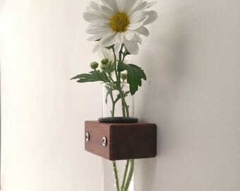 Wall Vase, Test Tube Vase, Bud Vase Home Decor