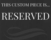 This is a reserved Listing