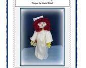Graduation Annie Raggedy Ann Graduate Doll E-Pattern
