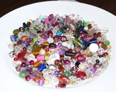 Soup Bead Mixed Glass Beads Loose Bead Assorted Beads Destash Bead Grab Bag Mulit Color Beads Jewelry Findings Craft Supplies