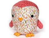 Cute Penguin soft toy Pattern - PDF