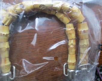 Bamboo Pieces Purse/Handbag Handles