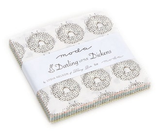 Darling Little Dickens Charm Pack (49000PP) by Lydia Nelson