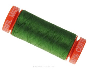 MK50 2890 - Aurifil Very Dark Grass Cotton Thread