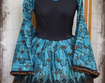Babydoll gothic lolita kimono cosplay dress