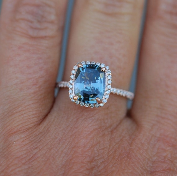 reserved part 2 Blue Green sapphire engagement ring Teal