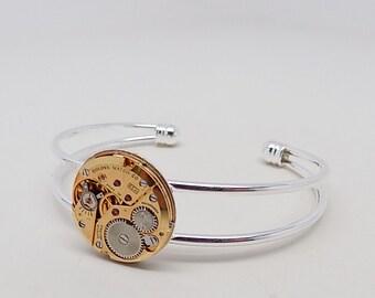 Steampunk bracelet.