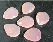 55% OFF SALE Sets of 4, 6, 8, 10, 12, 14, 16 AA Pink Chalcedony Faceted Pear Briolette Size 24x19mm Approx Extremely Gorgeous Brios With Gre