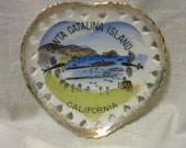 Vintage Heart Shaped Souvenir From Santa Catalina Island California
