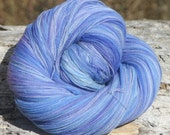 Handpainted, Kettled dyed Lace weight yarn - Fade - 100 percent Superwash Merino  - 4 ounces