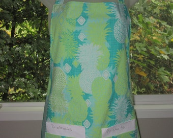 Womens Aprons - Full aprons - Pineapple Express