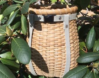 Mini Adirondack Backpack Basket Pack Basket - Mini Pack Basket - Child sized Pack Basket - Mushroom basket